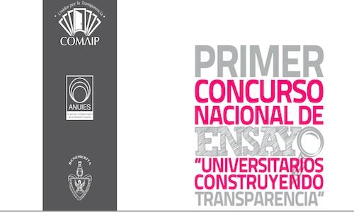 """Ensayos """"Universitarios Construyendo Transparencia"""""""
