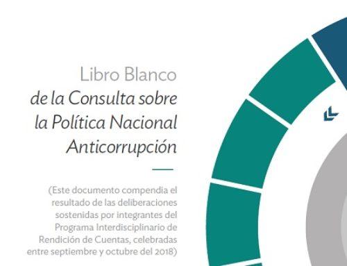 Libro Blanco | Política Nacional Anticorrupción
