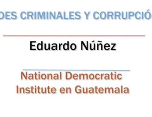 Redes criminales y corrupción