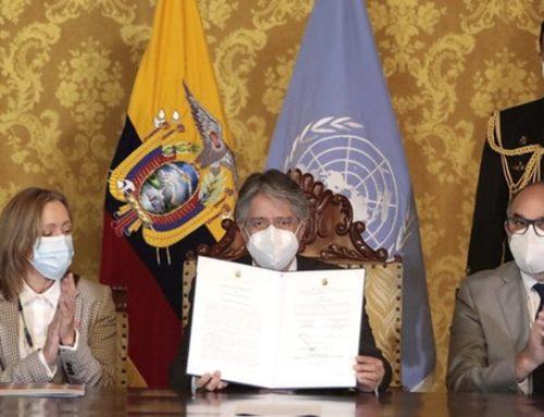 Ecuador: el gobierno de Guillermo Lasso pide asistencia la ONU para luchar contra la corrupción