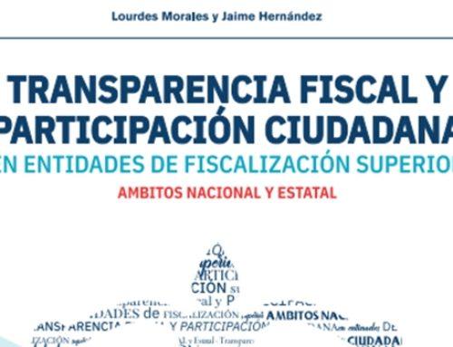 Transparencia fiscal y participación ciudadana en entidades de fiscalización superior